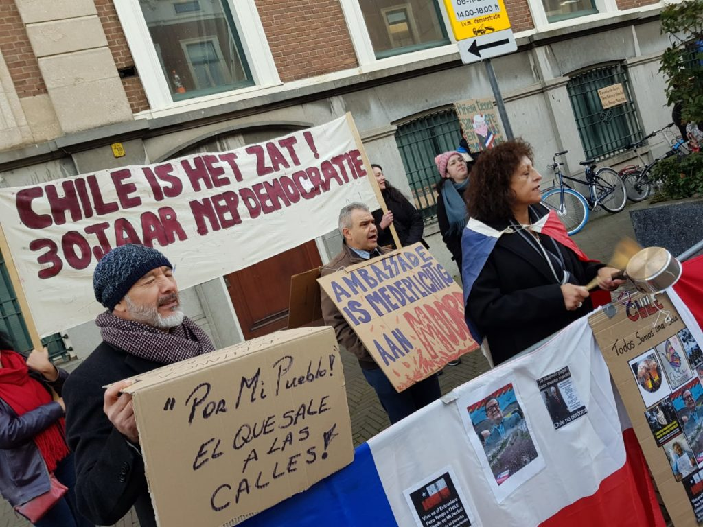 The Hague protest