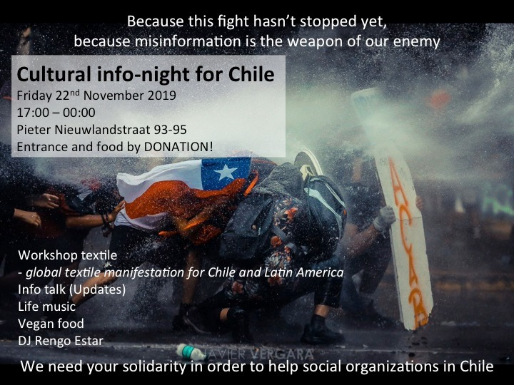 Cultural info night for Chile
