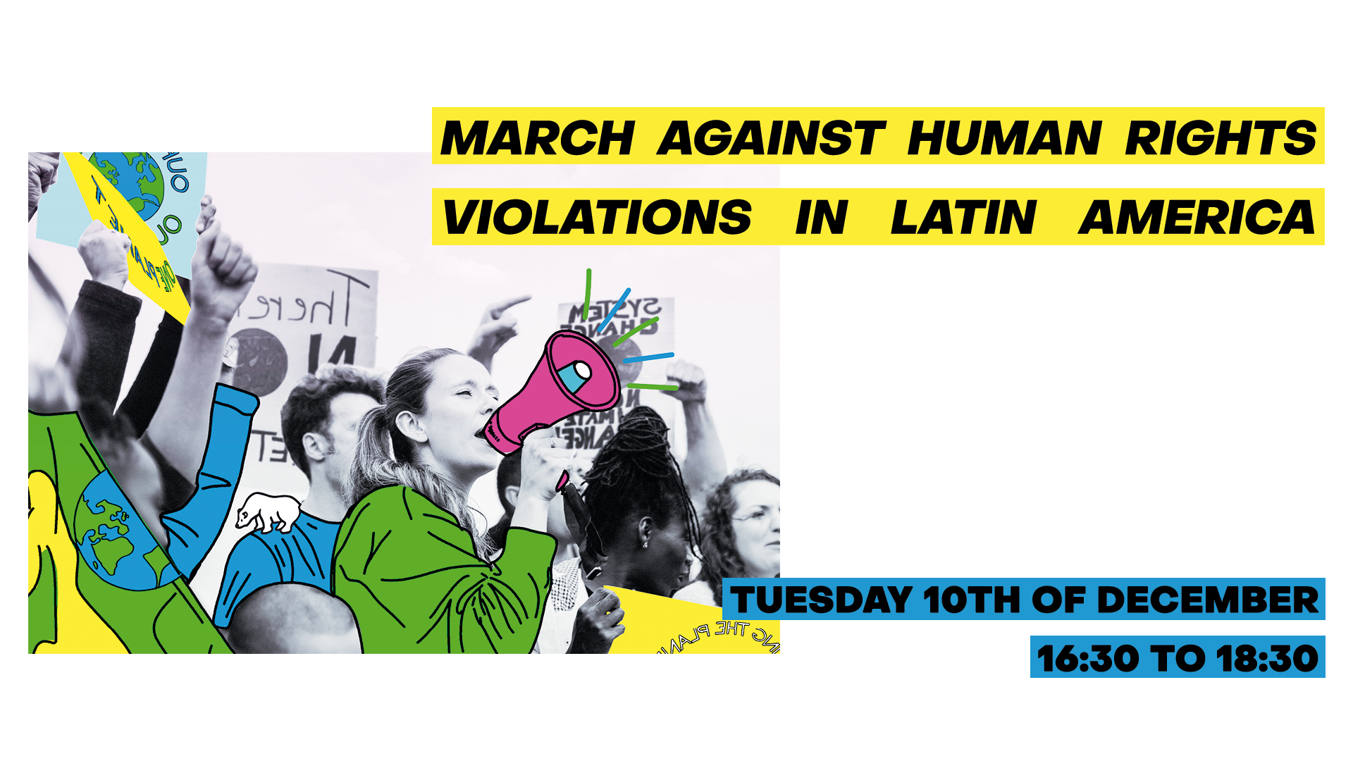 March Human Rights Latin América